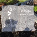 13 urnengrabstein