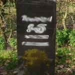14 urnengrabstein